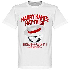 Harry Kane's Panama Hattrick Tee - White