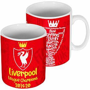 Liverpool 2020 League Champions Mug