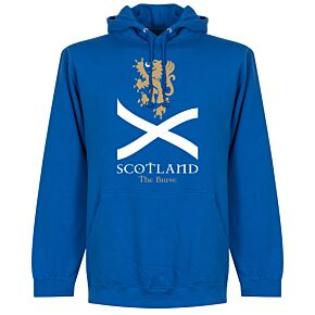 Scotland the Brave Hoodie - Royal