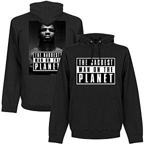 Mike Tyson Baddest Man Hoodie - Black