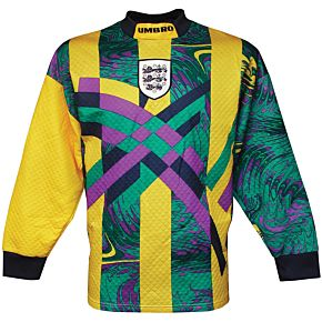 Umbro England 1995-1996 Home Goalkeeper Shirt L/S - USED Condition (Great) - Size M