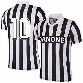92-93 Juventus Home RetroShirt + No 10