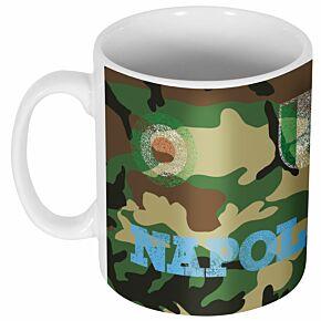 Napoli Maradona 10 Camo Mug