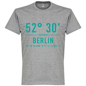 Hertha Berlin Home Coordinate Tee - Grey