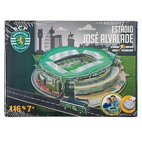 SCP Sporting Lissabon Jose Alvalade 3D Stadium Puzzle (New Version)