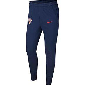 20-21 Croatia GFA Track Pants - Navy