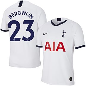 19-20 Tottenham Home Shirt+ Bergwijn 23 (Premier League)