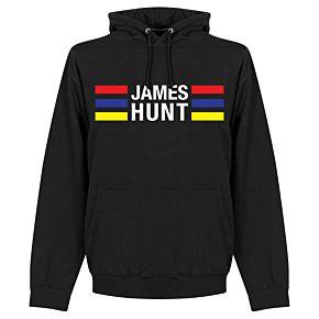 James Hunt Stripes Hoodie - Black