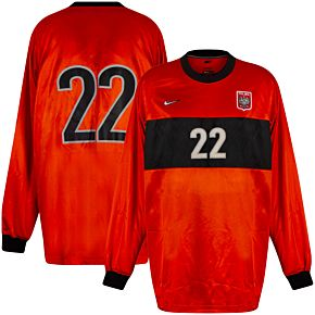 98-99 Poland Away GK Jersey + No. 22 - Grade 9