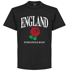 England Rose International Ruby Tee - Black