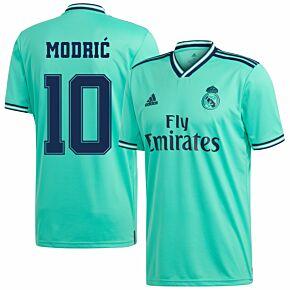 adidas Real Madrid KIDS 3. Modric 10 Jersey 2019-2020 (Fan Style Printing)
