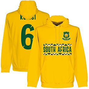 South Africa Rugby Team Kolisi 6 Hoodie - Gold