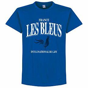 France Les Bleus Rugby Tee - Royal