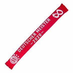 Bayern Munich Bundesliga Winners 2020 Scarf - Red