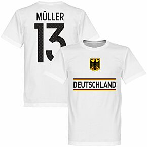 Germany Müller 13 Team Tee - White