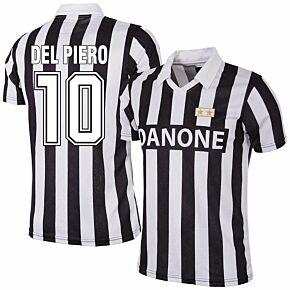 92-93 Juventus Home RetroShirt + Del Piero 10