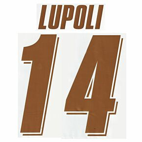 Lupoli 14 - 07-08 Fiorentina Home Official Name and Number