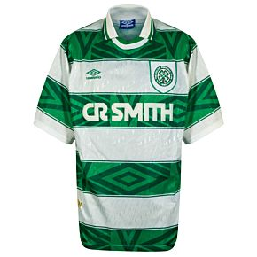 Umbro Celtic 1993-1995 Home- USED Condition (Great) -Size XXL