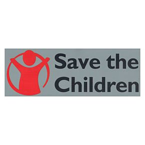 Save The Children Sponsor - 10-11 Fiorentina Away Official Sponsor
