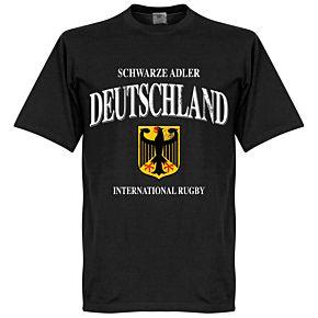Germany Rugby Tee - Black