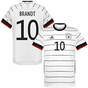 20-21 Germany Home Shirt + Brandt 10