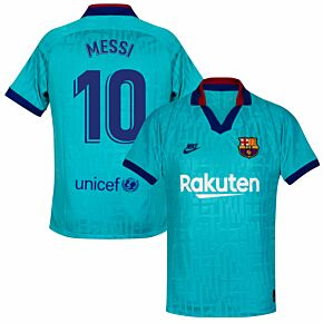 Nike Barcelona 3rd Messi 10 Jersey 2019-2020 (Fan Style Printing)