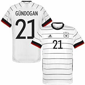 20-21 Germany Home Shirt + Gündogan 21