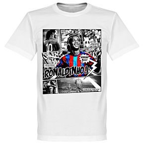 Ronaldinho Comic T-shirt -Chilli