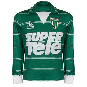 Le Coq Sportif St Etienne 1980-1982 Home L/S Jersey USED Condition (Great) - Large Boys