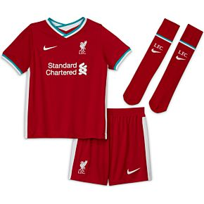 20-21 Liverpool Little Boys Home Kit