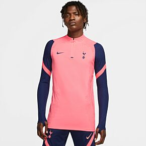 20-21 Tottenham Vaporknit Strike Drill Top - Lava Glow/Blue