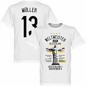 Germany Road To Victory Müller Tee - White