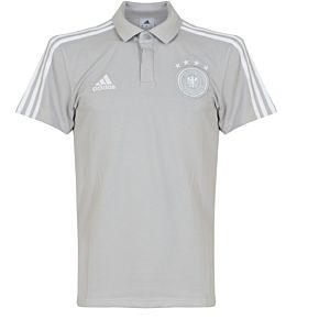 Germany Cotton Polo 2018 / 2019 - Grey/White