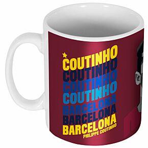 Coutinho Barcelona Portrait Mug