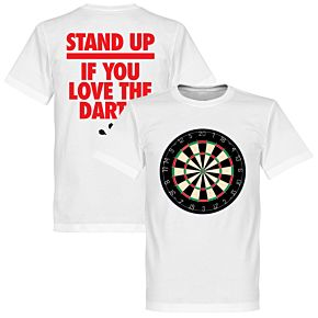 Stand Up If You Love The Darts Tee