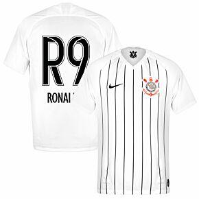 Nike Corinthians Home Ronaldo R9 Jersey 2019-2020 (Fan Style Printing)