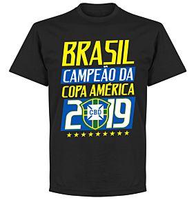 Brasil Campeao 2019 T-Shirt - Black