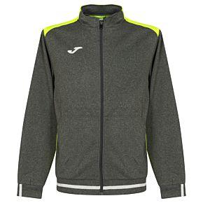 Joma Campus II Track Jacket - Grey/Yellow