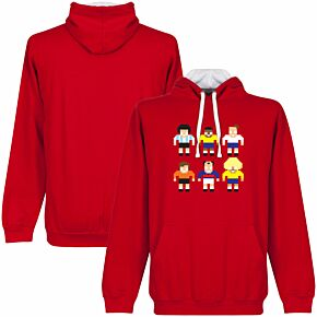 Pixel Legends Hoodie - Red