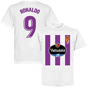 Valladolid Ronaldo 9 Team T-shirt - White