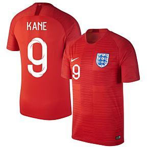 England Away Kane 9 Jersey 2018 / 2019 (Fan Style Printing)