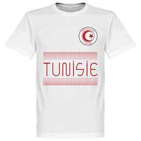 Tunisia Team Tee - White