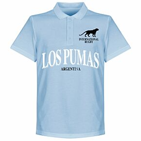 Argentina Rugby Polo Shirt - Sky