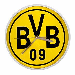 Borussia Dortmund Wall Clock (25cm Approx)