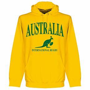 Australia Rugby Hoodie - Yellow