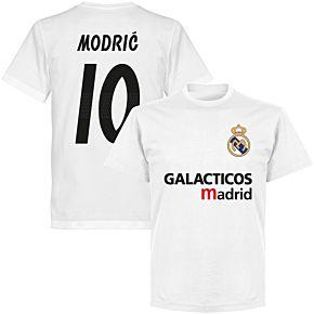 Galácticos Madrid Modric 10 Team T-shirt - White