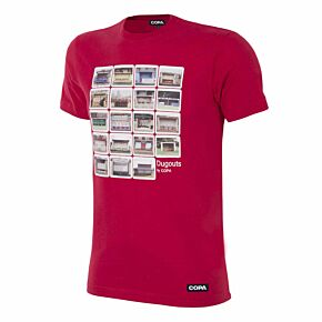 Copa Dugouts Tee - Red