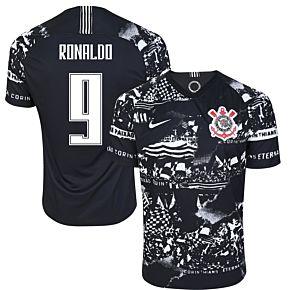 Nike Corinthians 3rd Ronaldo 9 Jersey 2019-2020 (Fan Style Printing)
