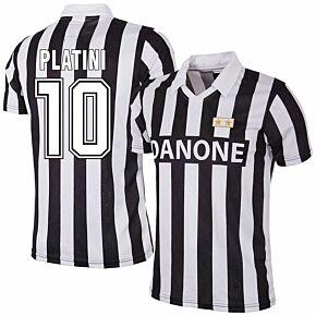 92-93 Juventus Home RetroShirt + Platini 10