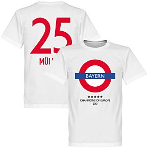 Bayern Underground Tee + Müller 25 - White